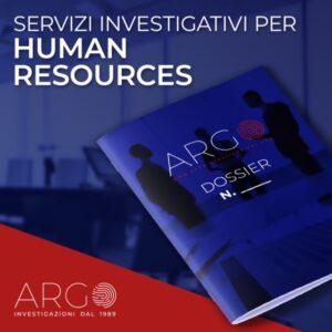 Argo HR servizi investigativi per risorse umane